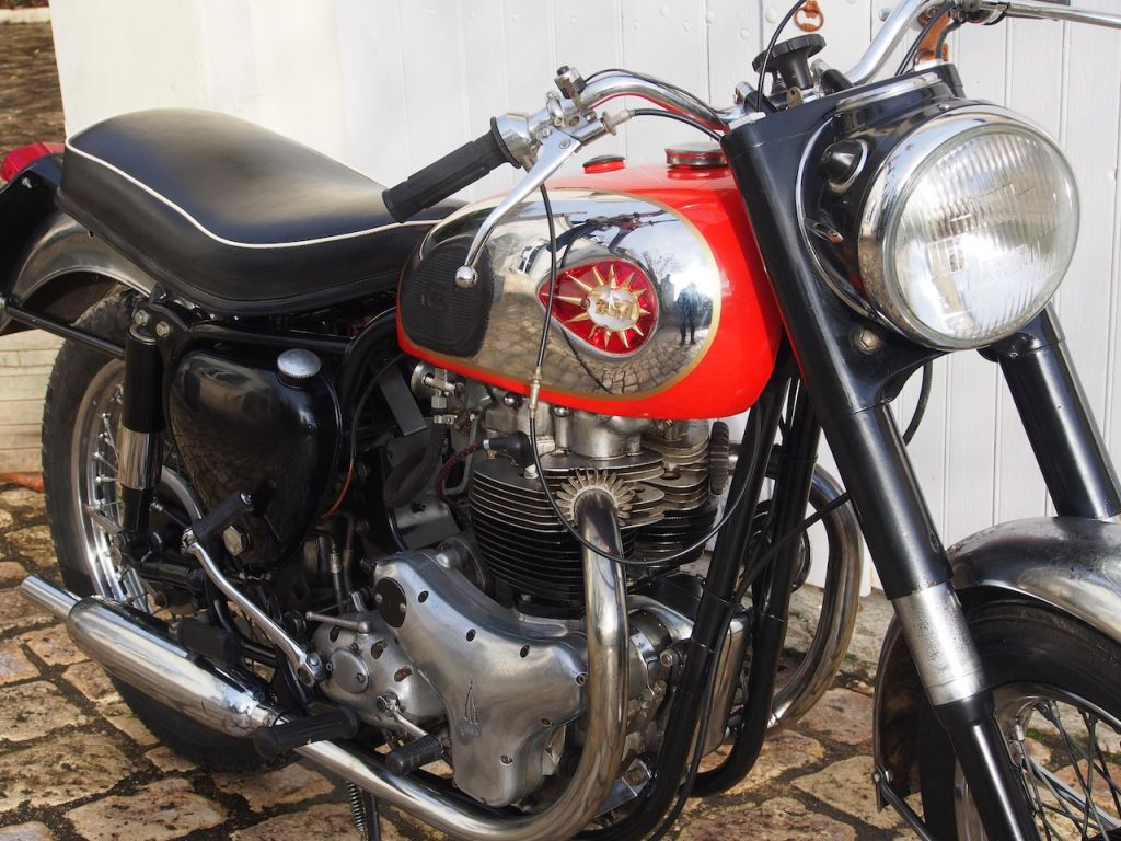 BSA A10 1958 Super Rocket