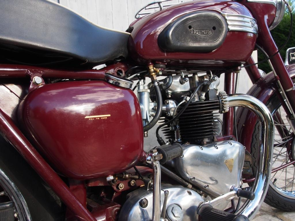 TRIUMPH 5T SpeedTwin - 1955