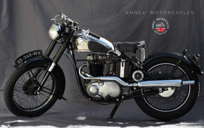 BSA A7 Rigide - 1948