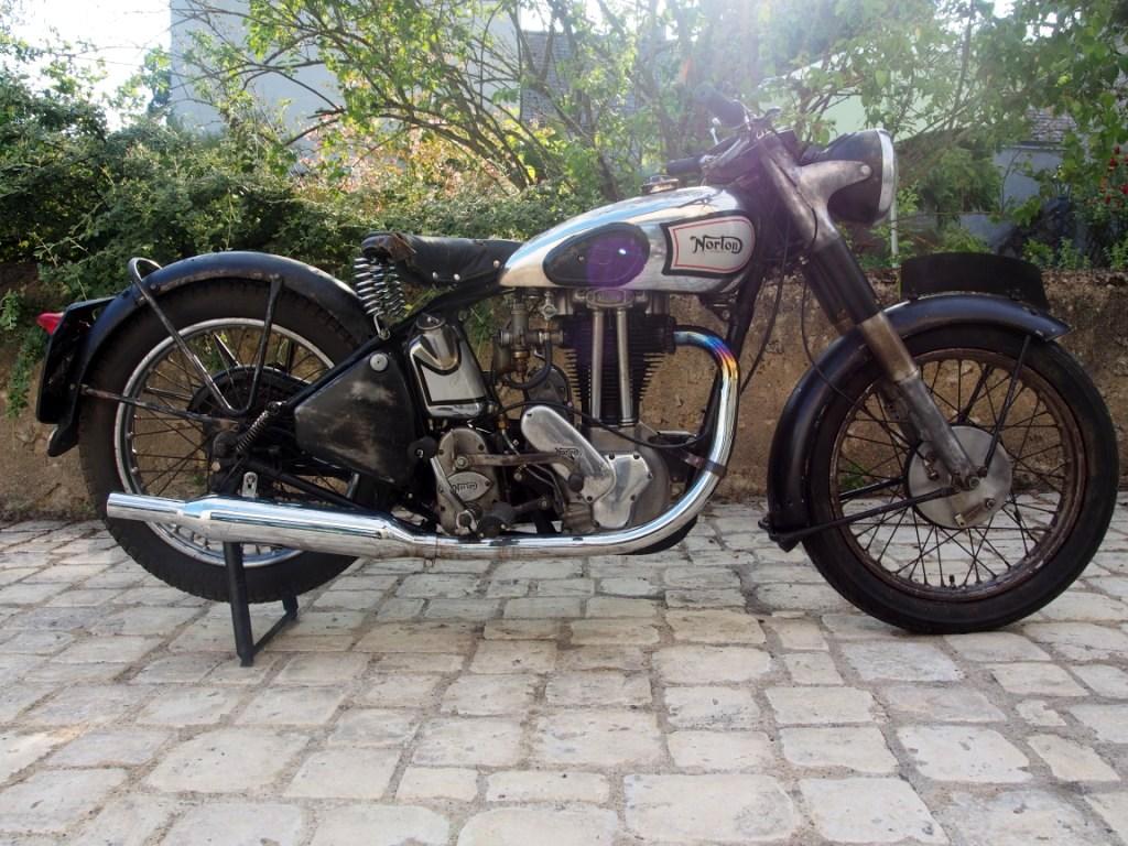 Norton Modèle 18 - 1947