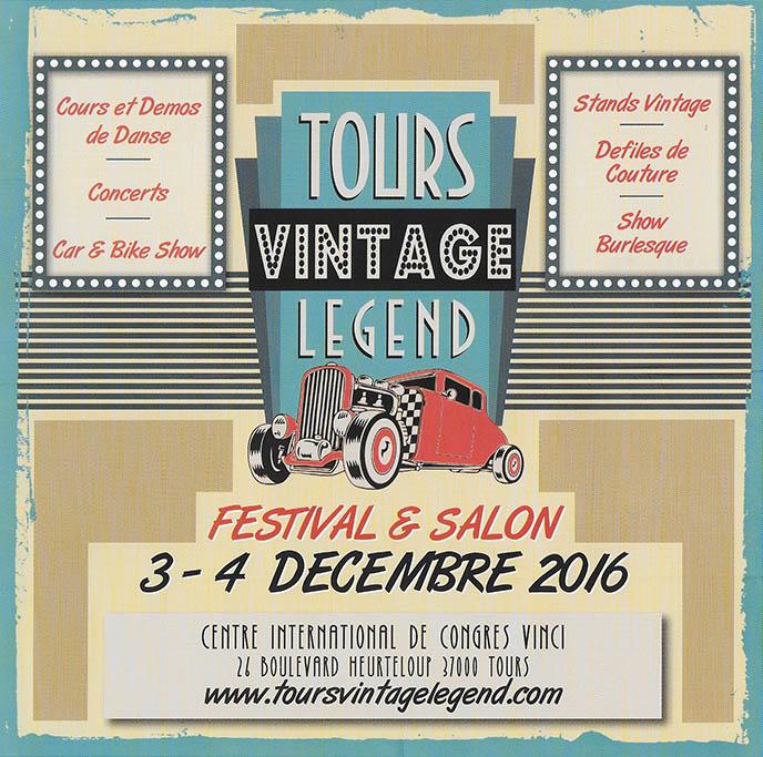 Tours Vintage Legend 2016