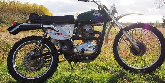 Vente Moto Anglaise BSA B50 1973