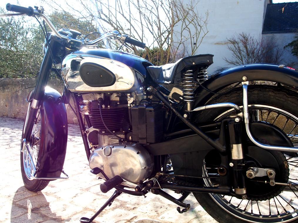BSA A10 - 1955