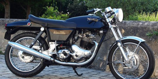 NORTON 750 - FASTBACK 1969