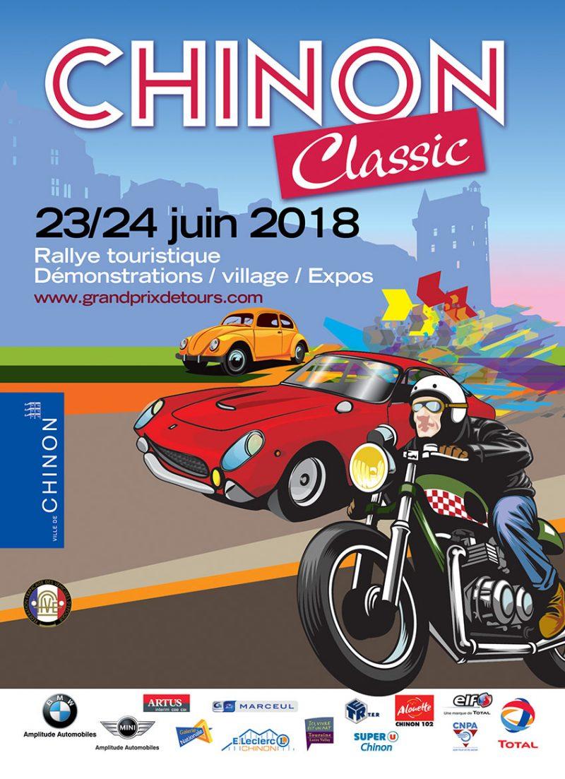 Chinon classic 23 et 24 juin 2018