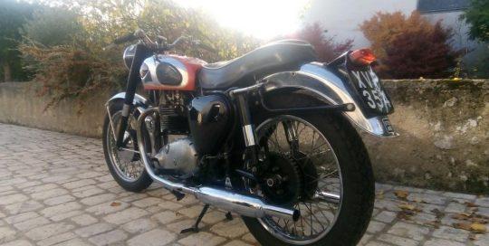 Moto Anglaise BSA A10 1958 Super Rocket