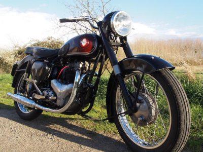 BSA A7 - 1954