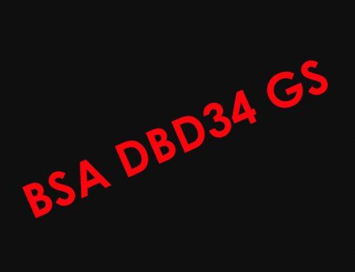 BSA DBD34 – 1961