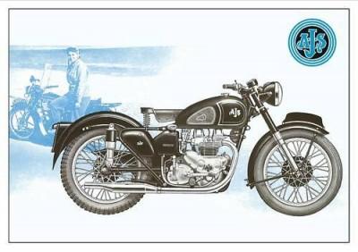 AJS M20 - 1955