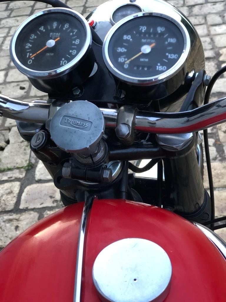 Triumph T120R - 1966
