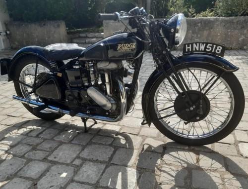 RUDGE 500 SPECIAL – 1939