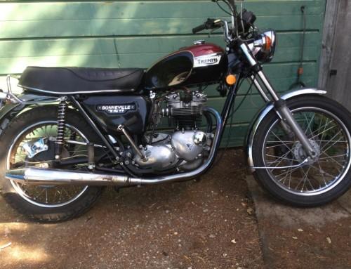 TRIUMPH T140E – 1978